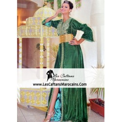 Caftan marocain henné