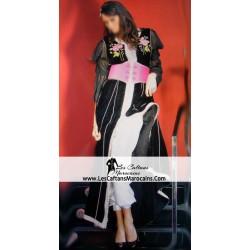 Takchita Noir avec pantalon