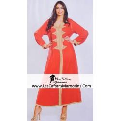 Djellaba marocaine princesse