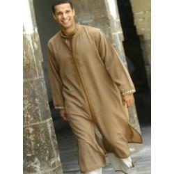 Caftan marocain avec jupe