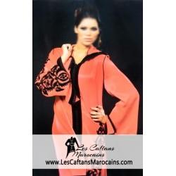 Djellaba marocaine brodée