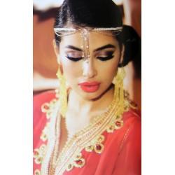 Takchita blanche pour votre mariage