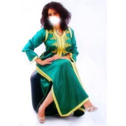 Caftan vert royal