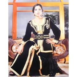 Takchita marocaine en noir...